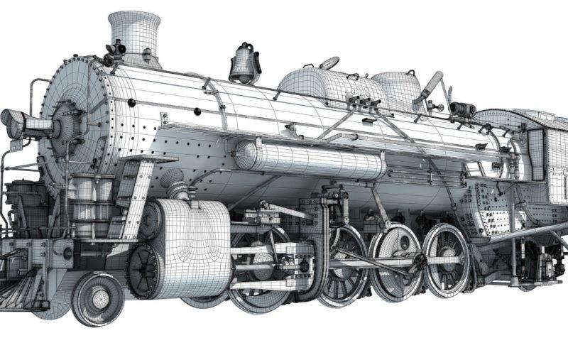 Modelar locomotora sin mucha experiencia con Blender