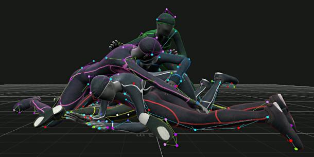 OptiTrack hardware óptico de captura de movimiento