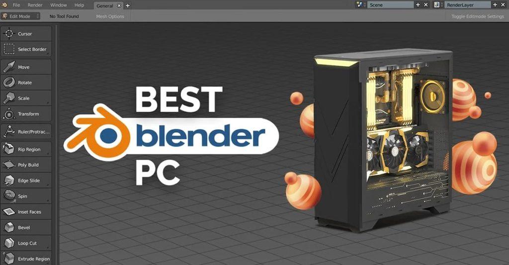 PC para trabajar de forma fluida en Blender.