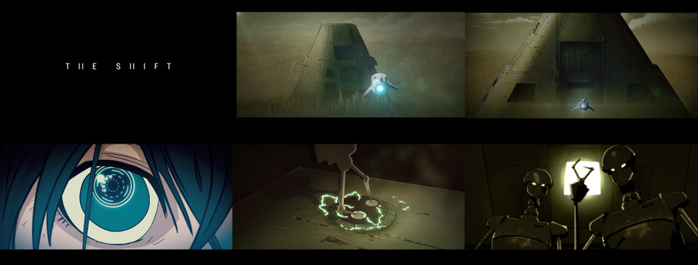 The Shift cortometraje de animación de ciencia ficción distópica