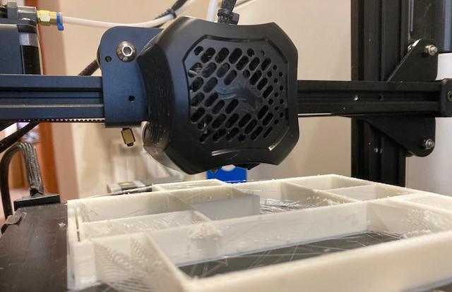 Ender 3 V2 deja de imprimir tras varias horas de trabajo