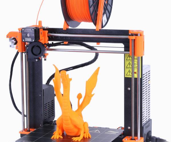 Extrusor sin filamento en la Prusa MK3S
