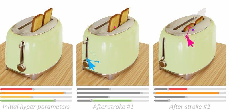 Modificar un modelo 3D con pinceladas cambiando sus formas