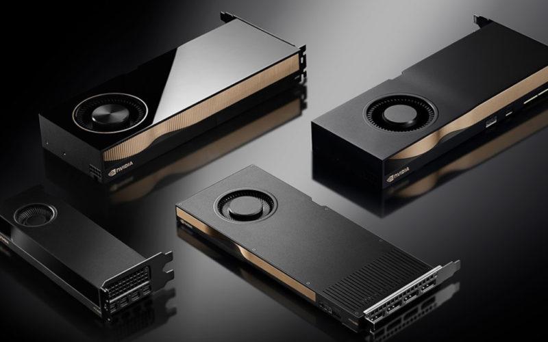 Nvidia RTX A2000 la menos voluminosa