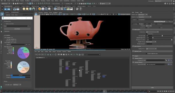 Pixar ha publicado RenderMan 24.1