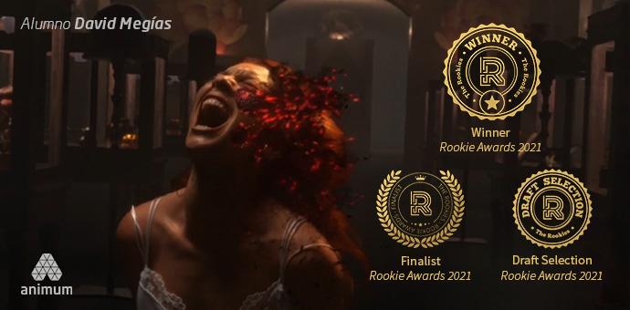 Rookie Awards 2021 reconoce el talento de los alumnos de Animum David Megías