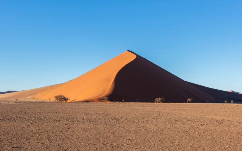 Simular dunas de arena en Houdini con Dune Solver - Duna en Sossusvlei