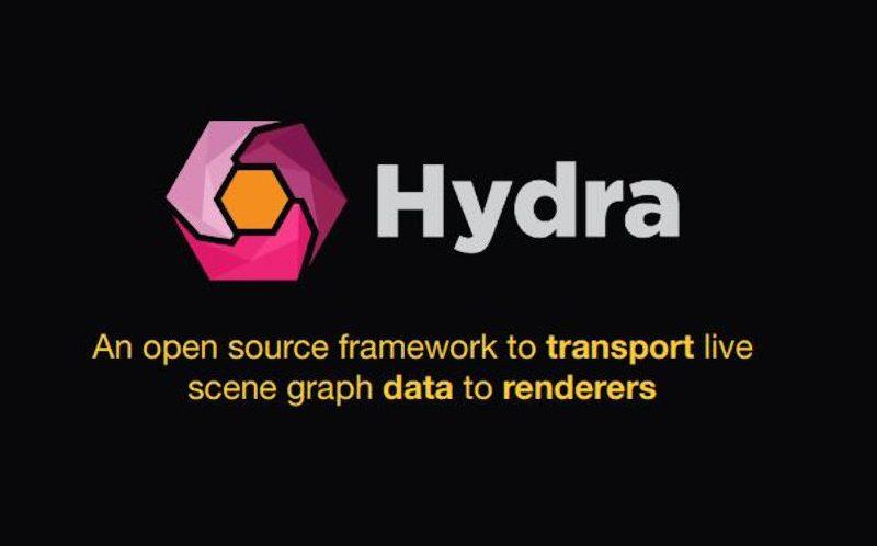 USD de Hydra disponible para Blender
