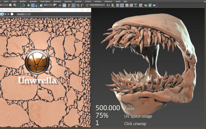 Unwrella 4 para 3ds Max y Autodesk Maya