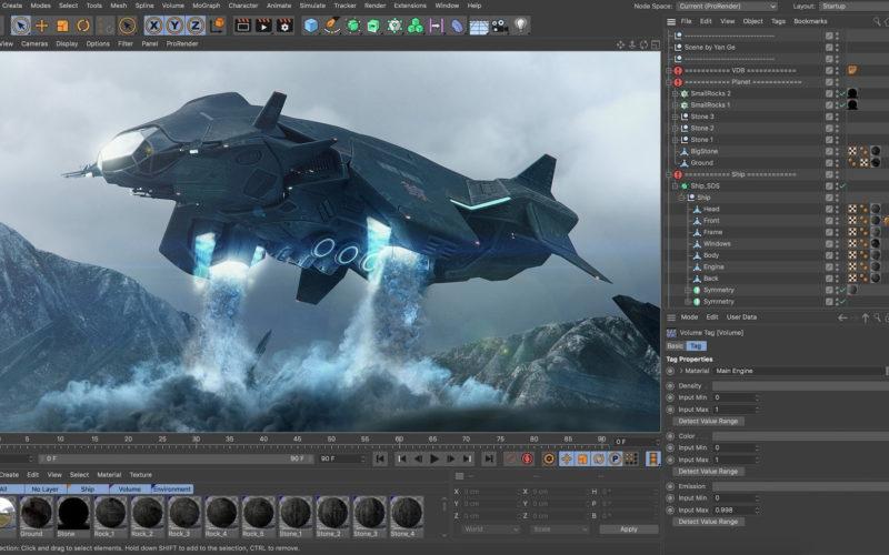 Actualización a la versión R23 deCinema 4D