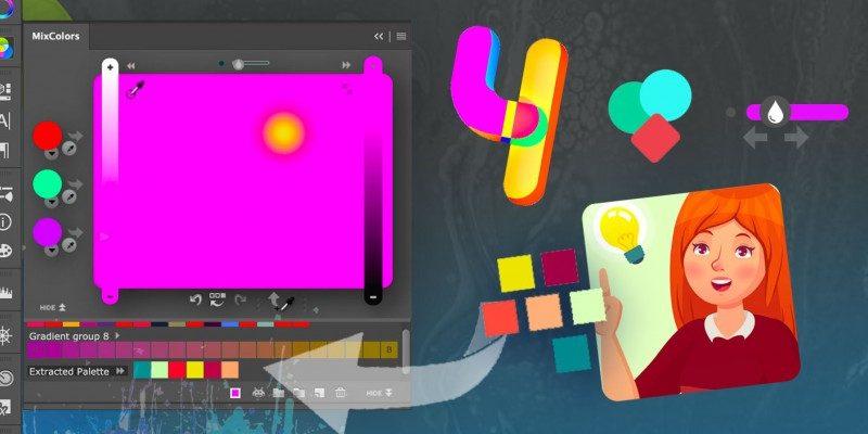 Anastasiy Safari publica MixColors 4 para mezclar colores