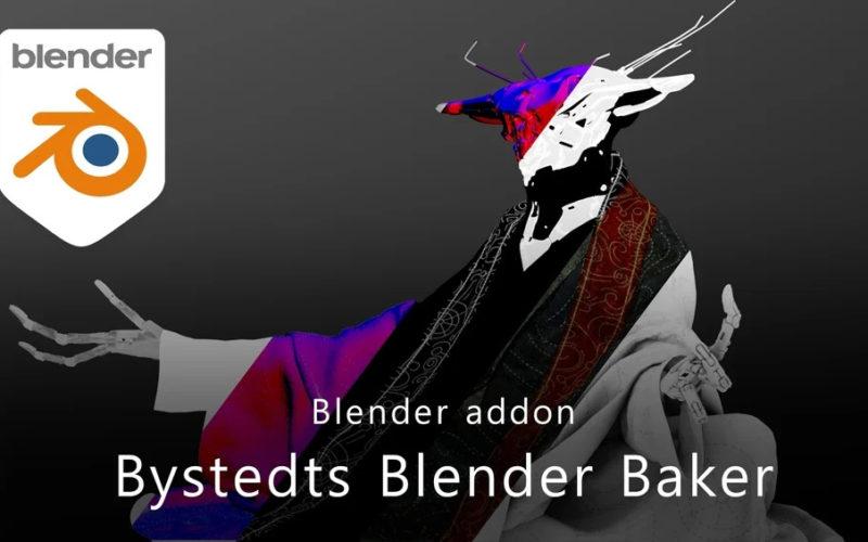 Velocidad para bakear en Blender con Bystedts Baker