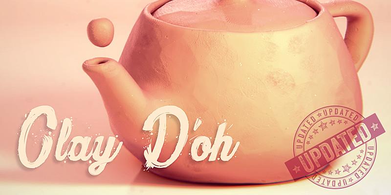 Clay Doh simula arcilla en tus proyectos de Blender