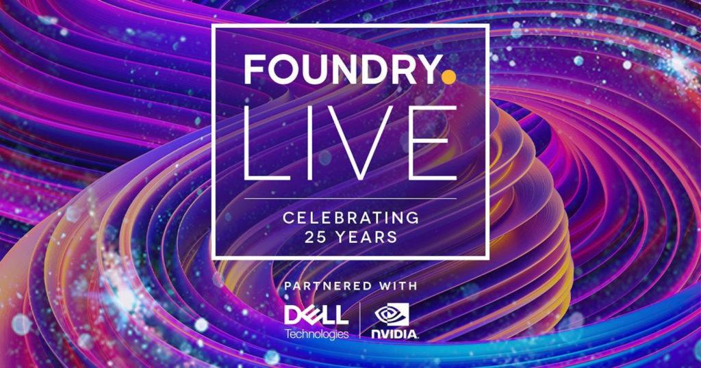 Evento Foundry Live en septiembre 2021