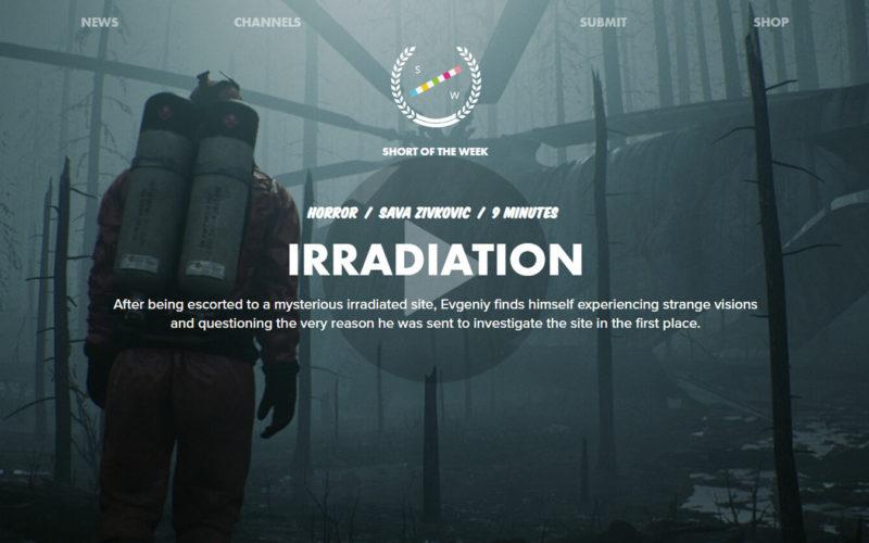 Irradiation cortometraje inspirado en Chernobyl