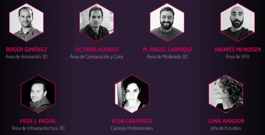 Jornada online de puertas abiertas en Animum - ponentes de la charla