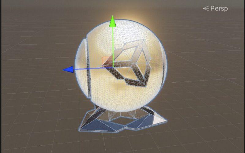 La vista de aislamiento le permite editar un GameObject sin distracciones