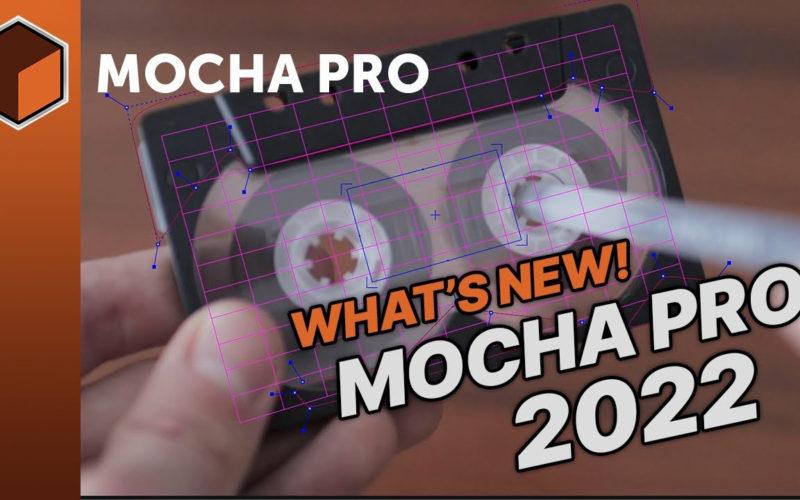 Mocha Pro 2022