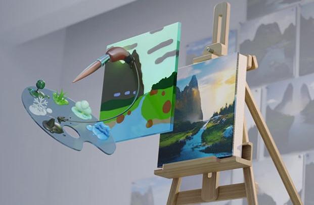 Nvidia Canvas con estilos personalizados genuinos