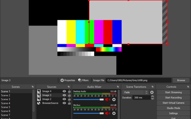 OBS Studio permite streaming y grabación de video y audio