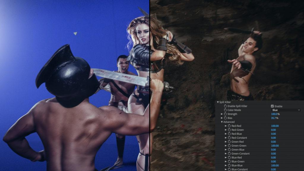Primatte Keyer mejorado en VFX Suite 2