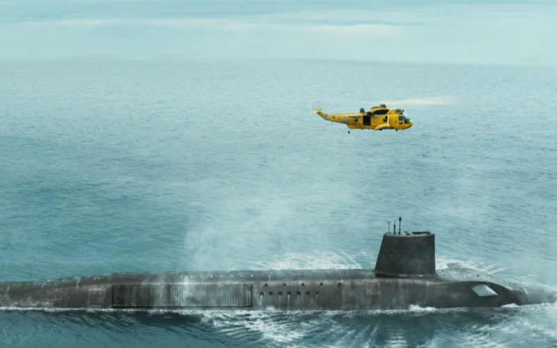 Goodbye Kansas proveedor principal de Trident HMS Vigil