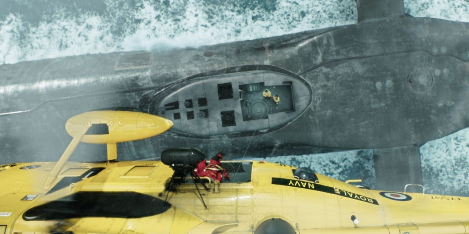 Trident HMS Vigil thriller de aguas profundas