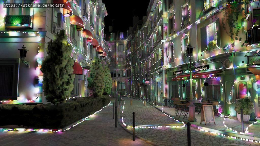 hdRstr trabaja con miles de luces en tiempo real
