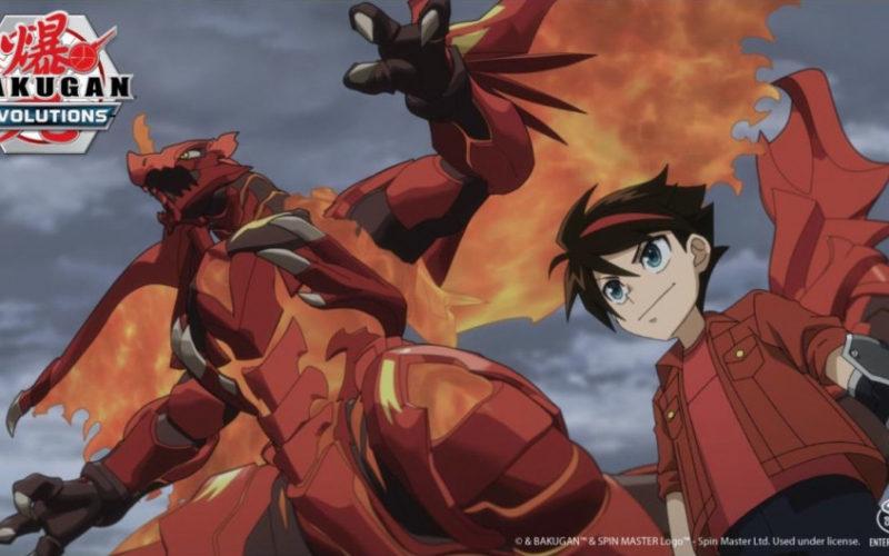 Bakugan Evolutions serie anime 2D