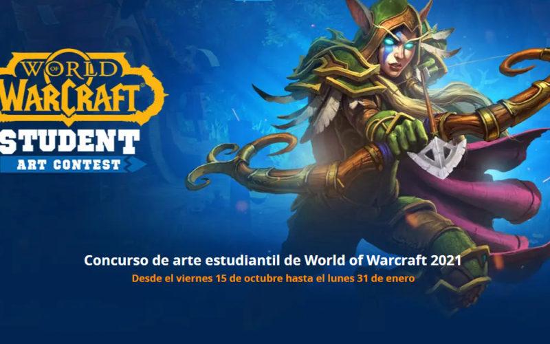 Concurso artístico World of Warcraft 2021