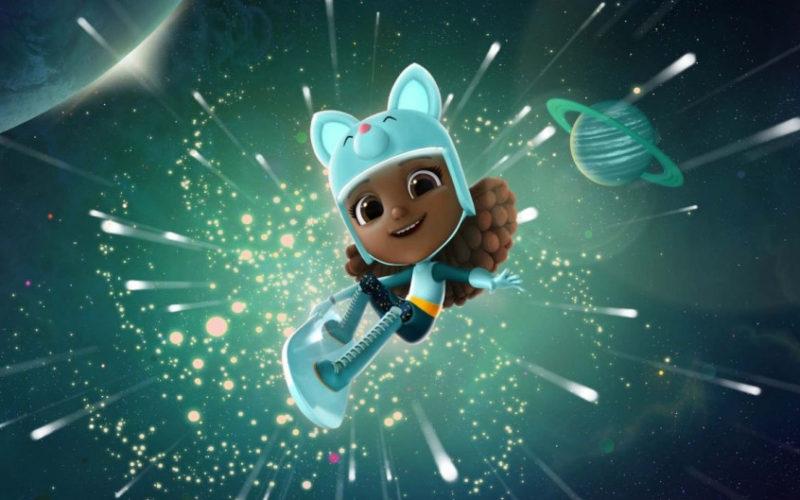 Interstellar Ella Ryder serie animada CGI por Aardman Studios
