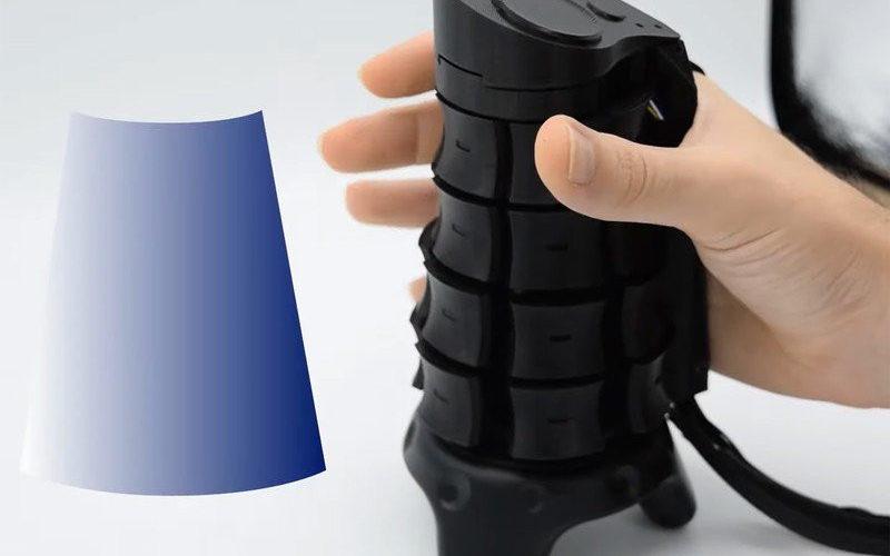 Joystick X-Rings capaz de adaptar su forma al objeto