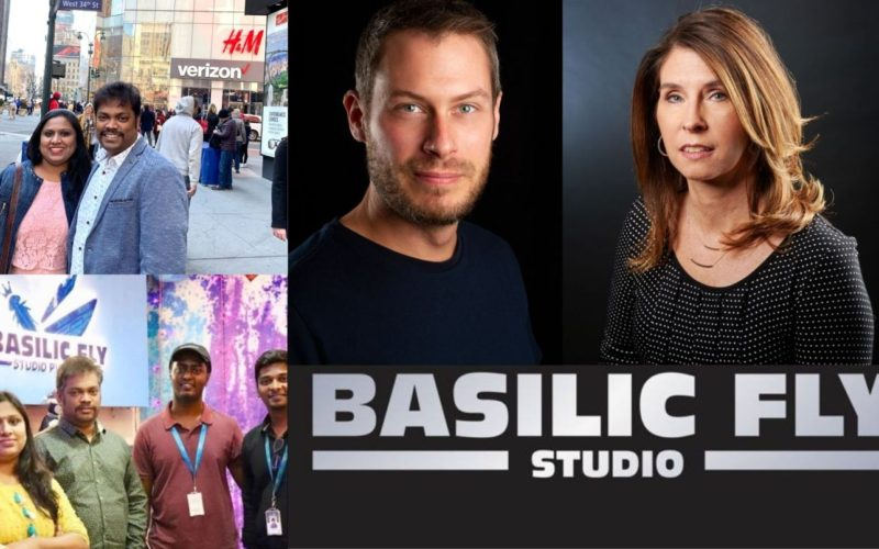 Rob Bannister colabora en Basilic Fly Studio en Canadá