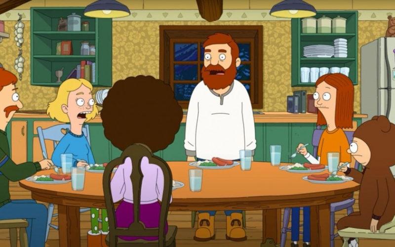 The Great North serie animada 2D para adultos