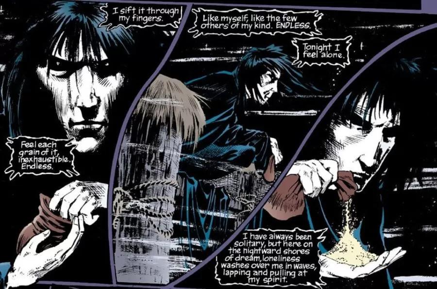The Sandman desglose de efectos visuales cómic