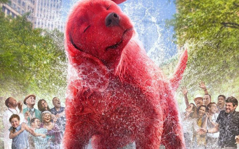 nuevo tráiler de Clifford el gran perro rojo